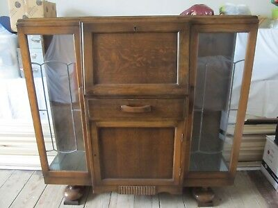 Antique Mahogany Drinks Cabinet