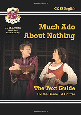 Grade 9-1 GCSE English Shakespeare Text Guide - Much Ado Ab (Paperback) New Book