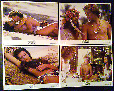 Lobby Card Lot~ RETURN TO THE BLUE LAGOON ~1991 ~Milla Jovovich ~Brian Krause