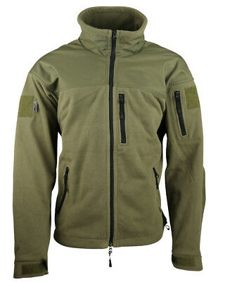 Kombat UK Defender Tactical Fleece Green Warm Recon Army Hunting/Shooting