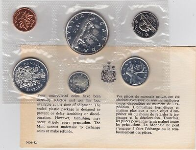 Canada 1966 Proof Like Coin Year Set 1.1 OZ Pure Silver with COA