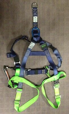 MILLER Polyester Maintenance Harness M1020065 + 2 9099X Relief Steps RRP $373.65