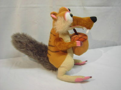 Scrat The Squirrel makes sounds Ice Age Continental Drift 4 Soft Toy