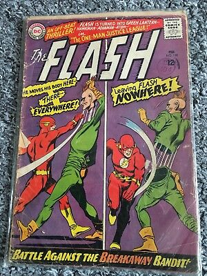 DC Comics The Flash ##158 Battle Against The Breakaway Bandit
