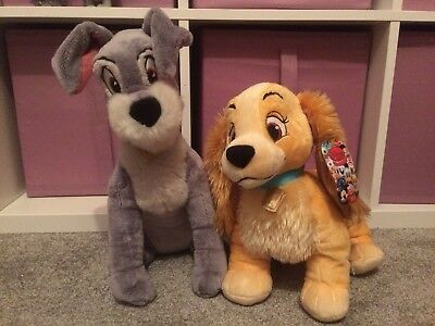 Lady & The Tramp Plush Toys