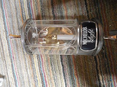 Vtg 1983's Michelob Crystal Lamps  Lantern Wall Mount Lighted Beer Sign