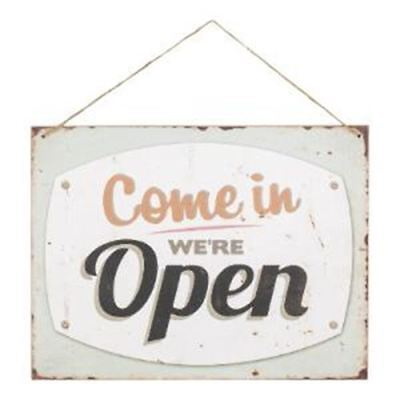 Reversible Open Closed MDF Hanging Sign