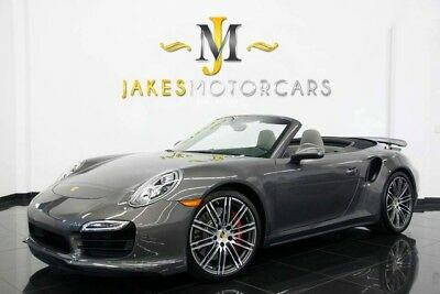 2014 Porsche 911 Turbo Cabriolet ($175,730 MSRP)...ONLY 4900 MILES! 2014 911 TURBO CABRIOLET, $175,730 MSRP! ONLY 4900 MILES! PRISTINE 1-OWNER CAR!