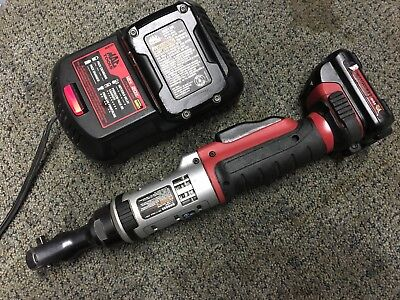 Mac tools brs025 cordless wireless ratchet 1/4 inch with battery and charger