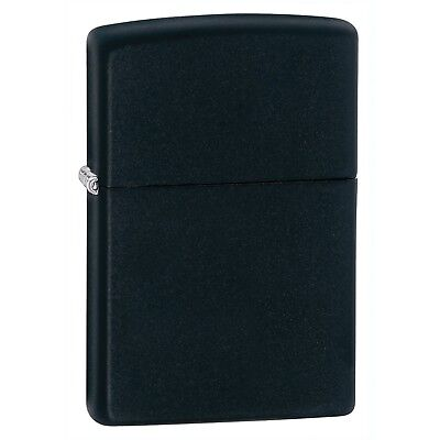 Zippo Matte Lighters Black