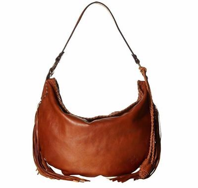 c81edb4a256f PATRICIA NASH Vincenzo Slouchy Large Hobo Shoulder BAG Tan Brown Leather   299.