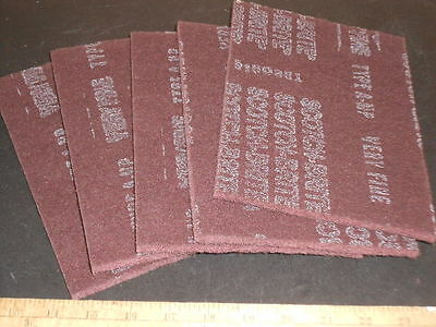 3M Scotchbrite 7447 Maroon Pads 6X9 Scouring-Finishing 5 Pads