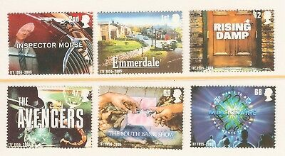 Collectible Great Britain 2005 MNH Stamps:Television Shows:Morse, Emmerdale
