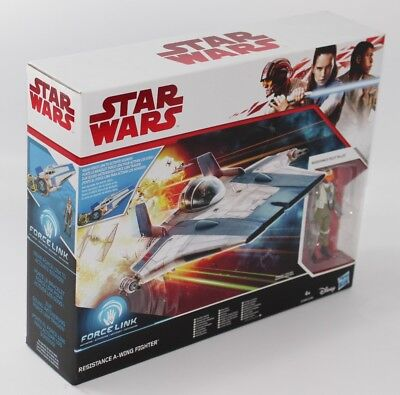 Star Wars, Resistance A-Wing Fighter,  Hasbro C1249 / C1248