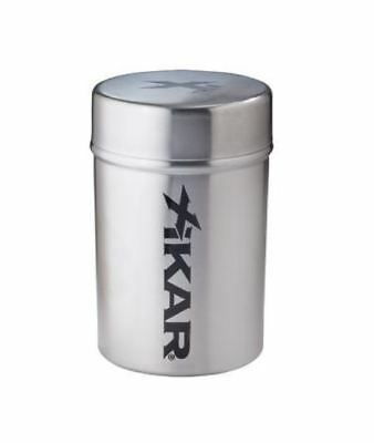 XIKAR Ash Can NEW - Portable Great for Cup Holder, Golf Cart - Stainless Steel