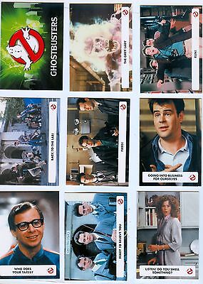 Complete Set -Base and Inserts - 97 Cards - Ghostbusters 2016