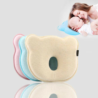 Baby Newborn Girl Boy Prevent Flat Head Pillow Infant Gift Sleep Cot Positioner