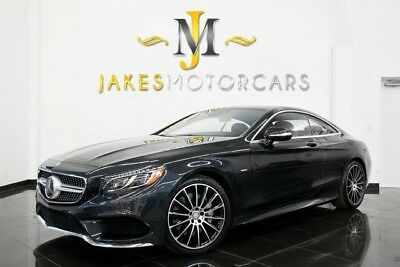 2015 Mercedes-Benz S-Class S550 Coupe 4MATIC~Sport Pkg~EDITION 1~ $149K MSRP! 2015 MERCEDES S550 4MATIC COUPE! RARE EDITION 1, $149,575 MSRP! PRISTINE 1-OWNER