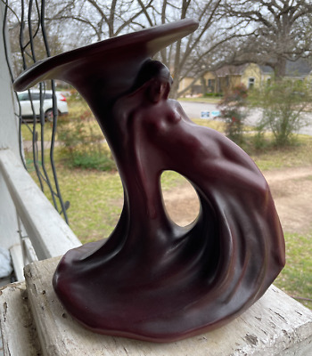Rare Antique Van Briggle Pottery Vase Lady of the Lily 1920's Persian Rose BIN