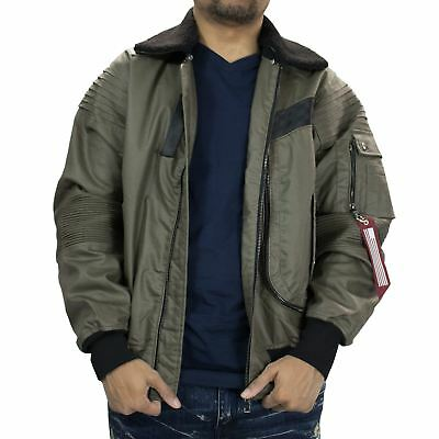 Mens Moto Waxed Twill Jacket