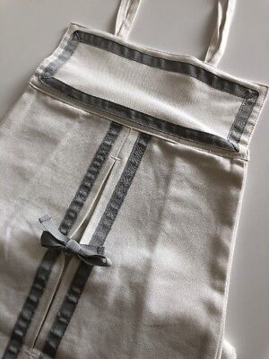 Pottery Barn Kids Gray Harper Diaper Holder ~ No Longer Available @ PBarn ~ NWT