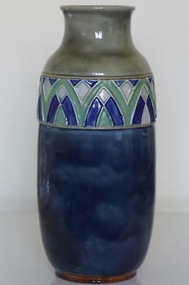 Royal Doulton Lambeth Vase - Art Deco -  Jane S.Hurst - c.1920