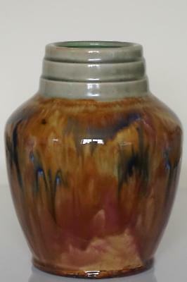 Superb Royal Doulton Lambeth Drip Glaze Vase - Art Deco - Joan Honey? - c.1925