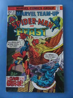 Marvel Team Up 38 1975 Spidey Beast