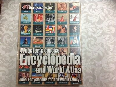Websters concise encyclopaedia and world atlas PC software