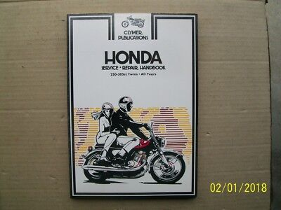 New Clymer workshop manual for HONDA 250-305cc twins, 1962/63