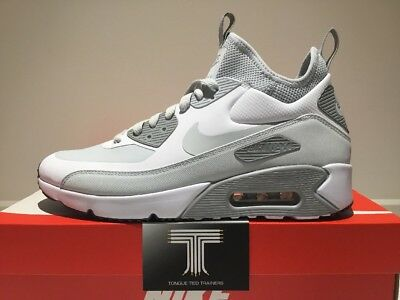 low priced a5b72 0951f Nike Air Max 90 Ultra Mid Winter ~ 924458 100 ~ Uk Size 8