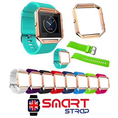 Silicone Fitness Replacement Band Wrist Strap For Fitbit Blaze Smart Watch UK