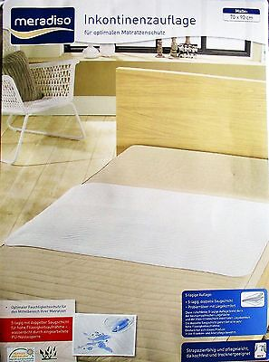 Incontinence Protector Mattress Cover Pad Baby Bed 70x90 Moisture