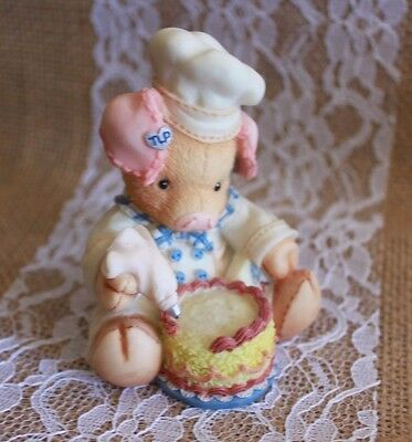 "1994 ENESCO TLP  ""Bacon A Cake""  THIS LITTLE PIGGY"