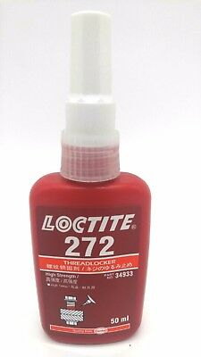 Loctite 272 Red - High Strength Threadlocker - 50ml