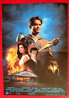 Rocketeer 1991 Campbell Connelly Alan Arkin Sci-Fi Unique Exyu Movie Poster # 2