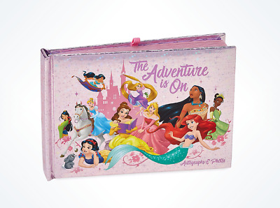 Walt Disney World Parks Pink Princess Autograph Photo Book NEW & SEALED
