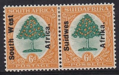 South West Africa 1926 Orange Tree 6D Pair