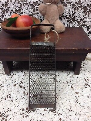 Nutmeg Spice Grater Primitive Kitchen Antique Chocolate, Herb, Cheese Farmhouse!