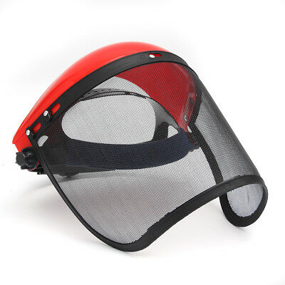 Clear Mesh Full Visor Flip Up Face Shield Screen Safety Mask Eye Protector Helme