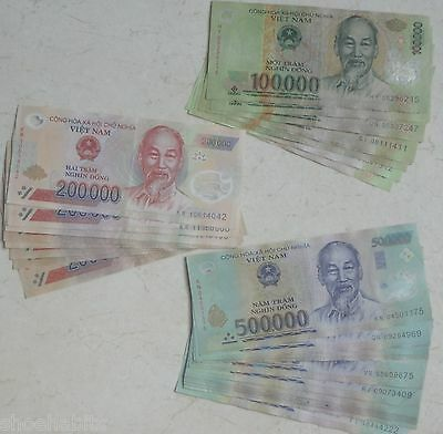 VIETNAMESE DONG: 5 MILLION Polymer Vietnam Banknotes Currency FREE SHIPPING