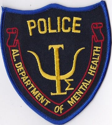 Dept. of Mental Health Police Alabama  Patch NEW!