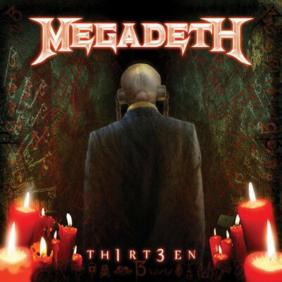 MEGADETH Th1rt3en RED vinyl lp /300 dystopia rust in peace sells NEW&SEALED