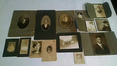 Vintage Antique Photo Lot Of 14 Photos - Rogers, Wolf Block - Pa
