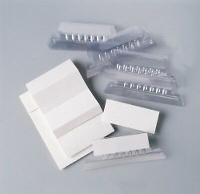 Esselte Suspension File and Tab Inserts Clear 5cm Pkt 25 ***39450***