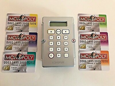 Electronic Banking And Here Now Edition Monopoly Deed Cards Full