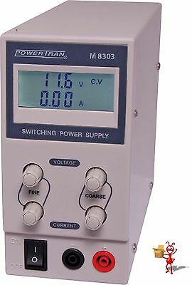 30V 3A Regulated Bench Top Power Supply