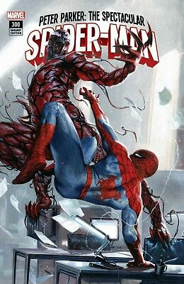 Spectacular Spider-Man #300 Gabriele Dell'Otto Exclusive Color Variant 2/28/18
