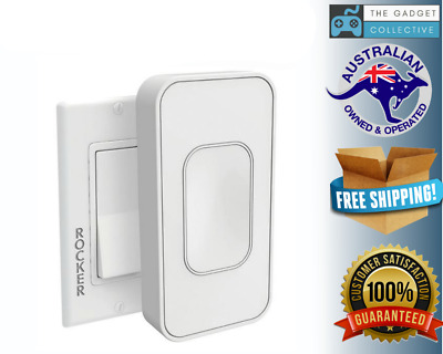 Switchmate Snap-On Instant Smart Light Switch That Listens - Switchmate RSM001WC