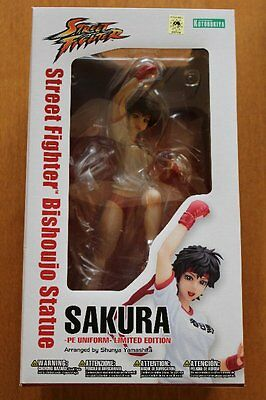 Kotobukiya Street Fighter Bishoujo Statue Sakura PE Uniform Ver. Figure Japan